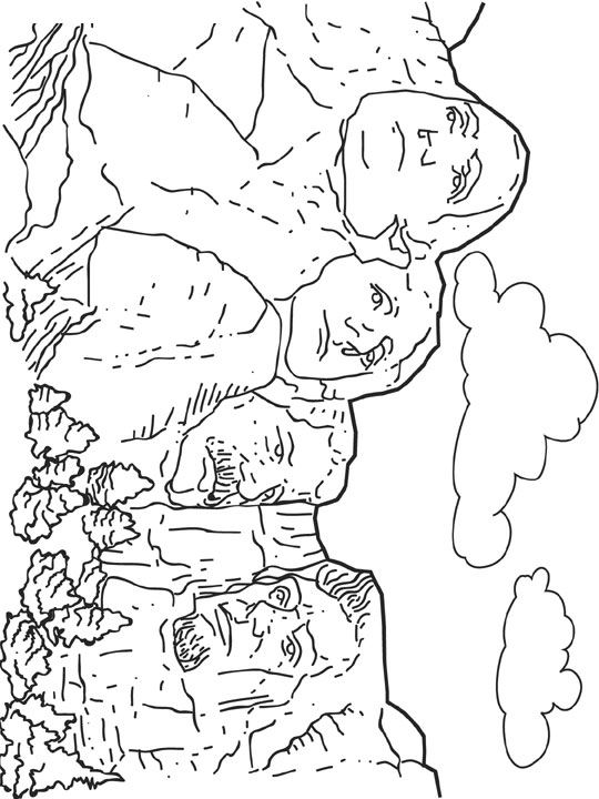 Wonders of the World COLORING PAGE | Etsy | 720x540
