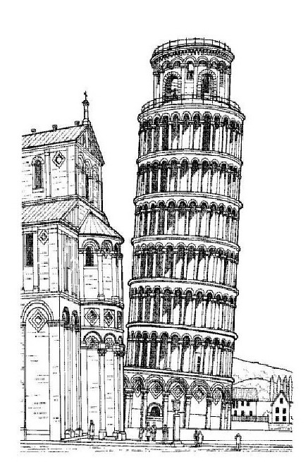 wonders of the world coloring pages - kids n 29 coloring pages of wold wonders ii