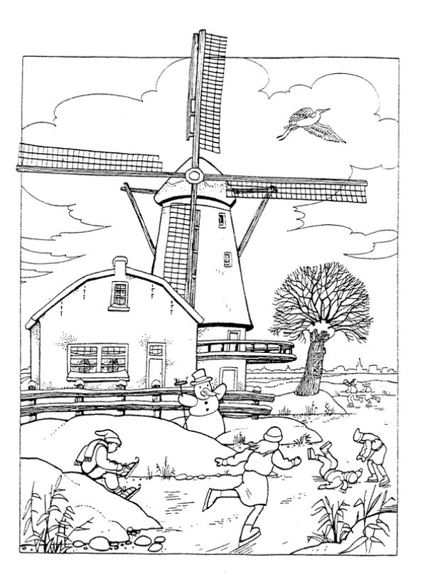 holland coloring pages - photo#27
