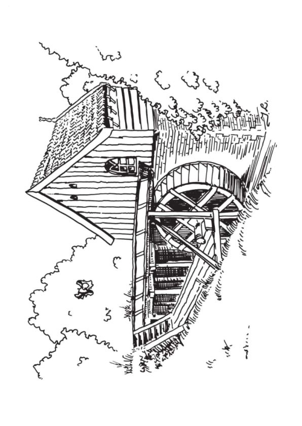 free coloring pages dutch windmill - photo#19