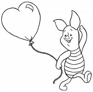 Kids N Fun Com 42 Coloring Pages Of Winnie De Pooh And Piglet