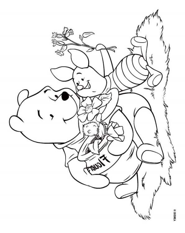 Kids N Fun Co Uk 94 Coloring Pages Of Winnie The Pooh
