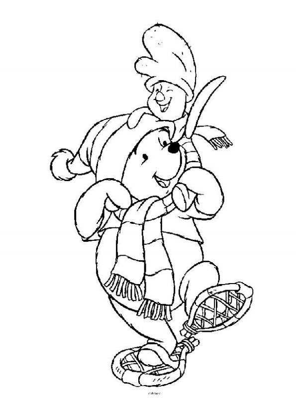 Kids-n-fun.co.uk | 94 coloring pages of Winnie the Pooh