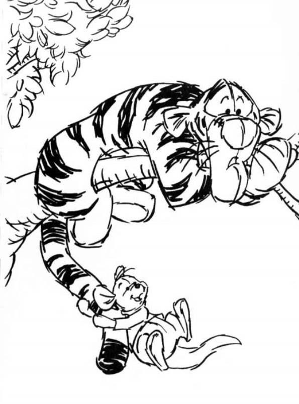 kidsnfuncom 94 coloring pages of winnie the pooh