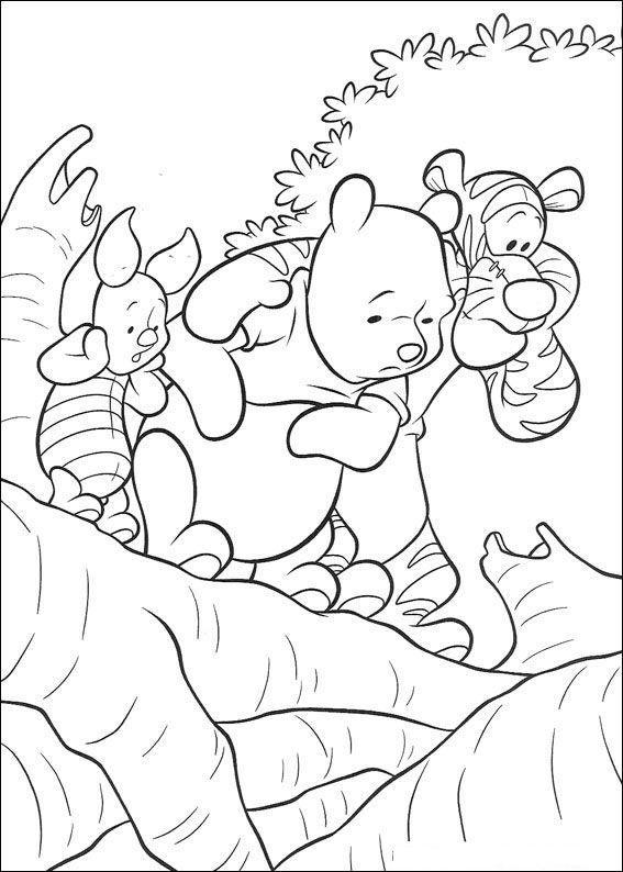heffalump coloring pages - photo#11