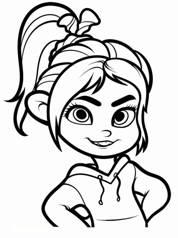 Kidsnfun 40 coloring pages of Wreck it Ralph