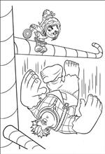vanellope von schweetz coloring pages - kids n fun 40 coloring pages of wreck it ralph