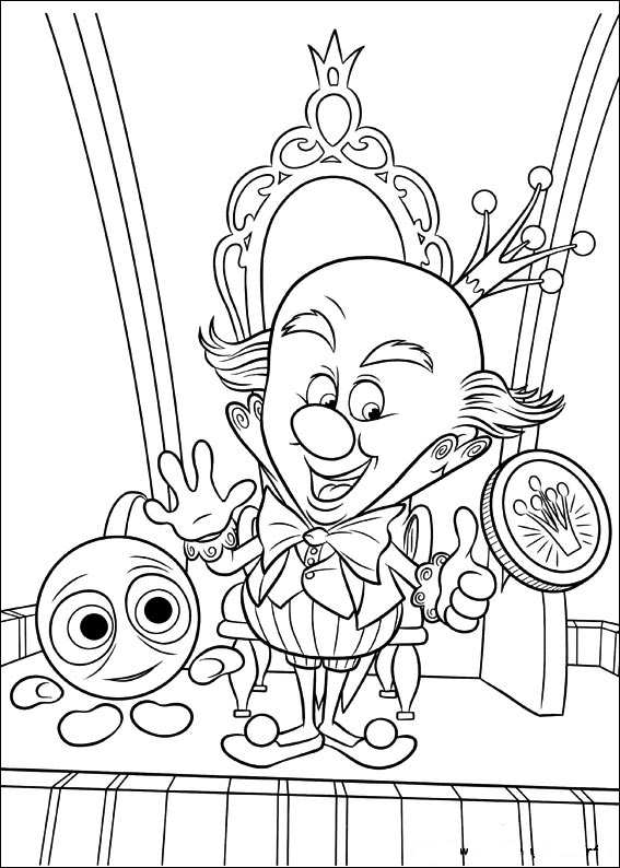Kids n funcom 40 coloring pages of Wreck it Ralph