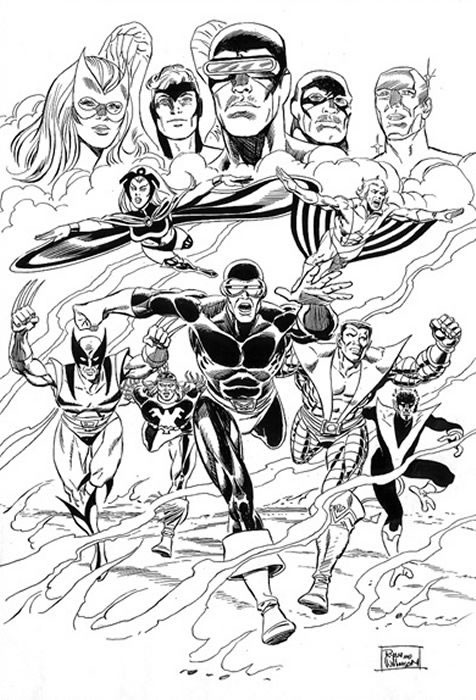 Kids N Fun Co Uk 40 Coloring Pages Of X Men