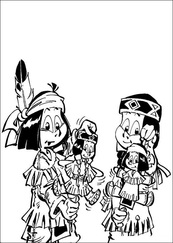 kidsnfun  coloring page yakari yakari