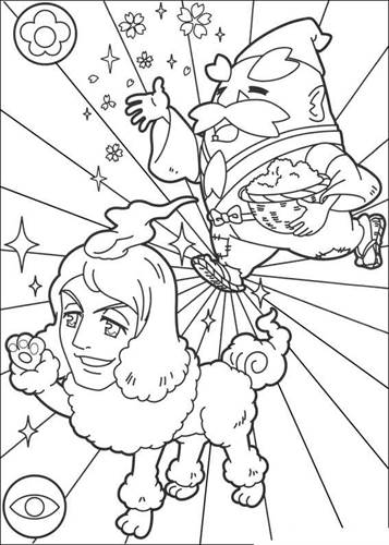 Kids N Fun Com 30 Coloring Pages Of Youkai