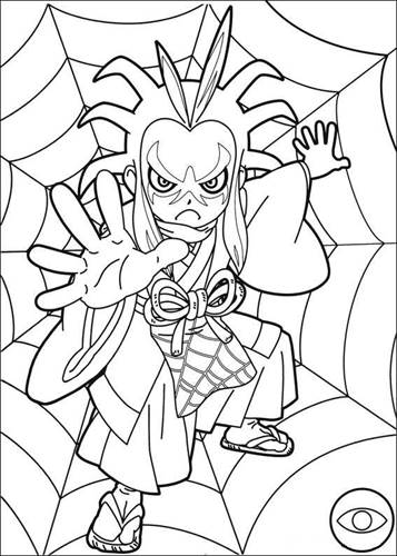 kidsnfun  30 coloring pages of youkai