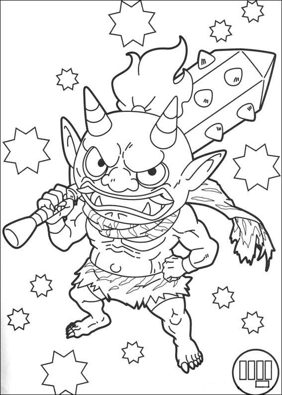 Kids-n-fun.com | Coloring page Youkai yokai watch 2
