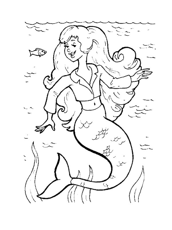 29 mermaid coloring pages