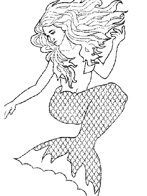 Kids N Fun Com 29 Coloring Pages Of Mermaid