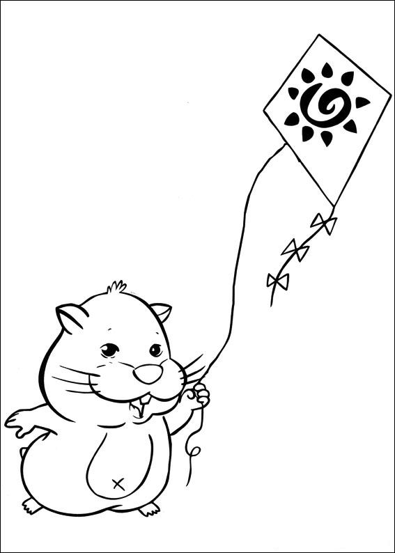 coloring pages of zuzu pets - photo#4