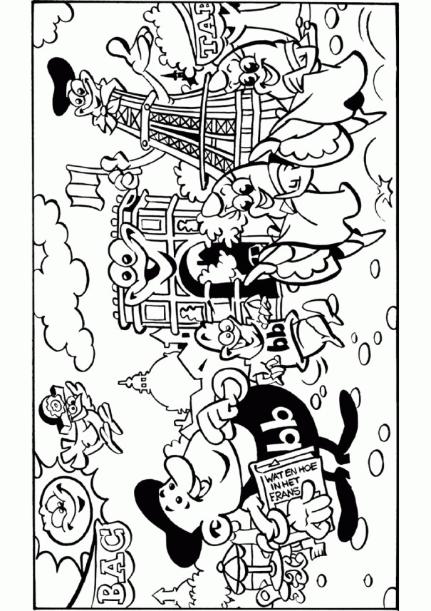 summer vacation - Coloring Pages Summer Vacation