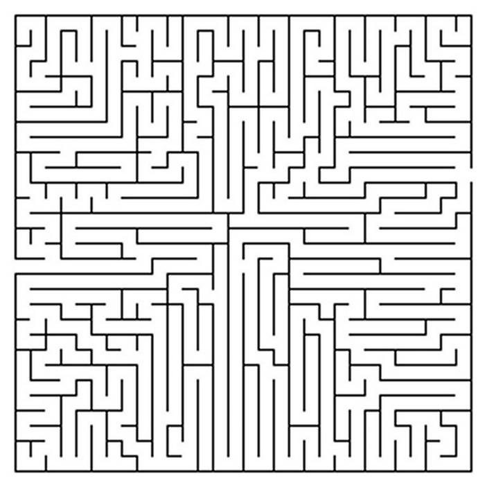 Verjaardags Kleurplaat Kids N Fun Com 57 Puzzle Of Maze