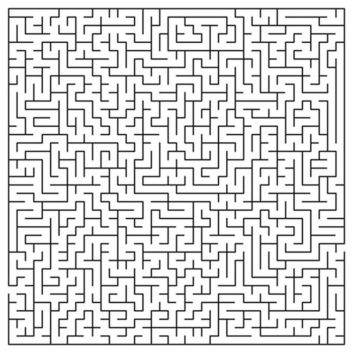 Kids N Fun Com Crafts Maze Maze Very Difficult