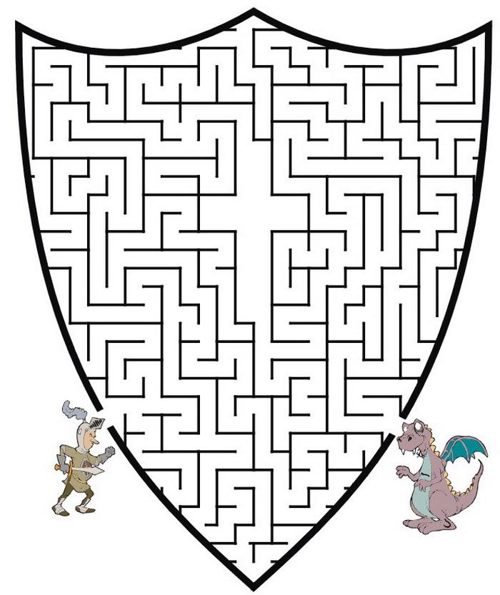 Kids-n-fun.com   57 puzzle of Maze