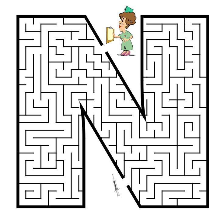 Kids N Fun Com 57 Puzzle Of Maze
