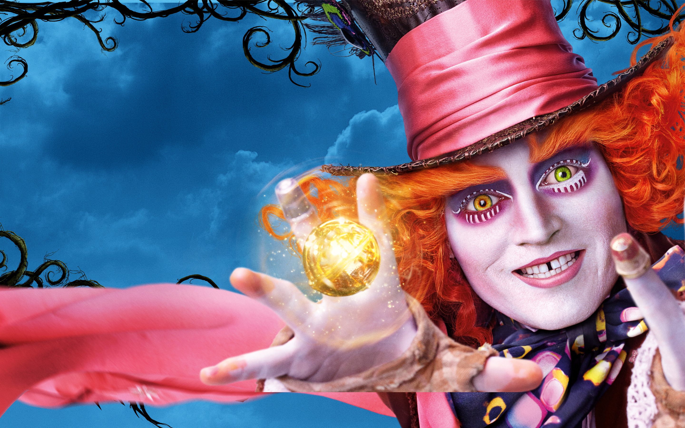 Kids N Fun Com Wallpaper Alice Through The Looking Glass Mad Hatter