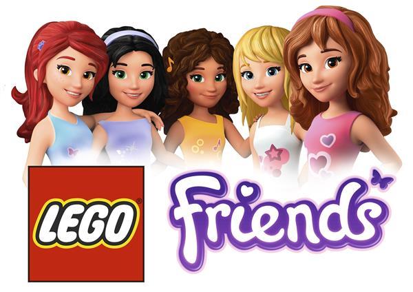Kids N Fun Com 16 Wallpapers Lego Friends