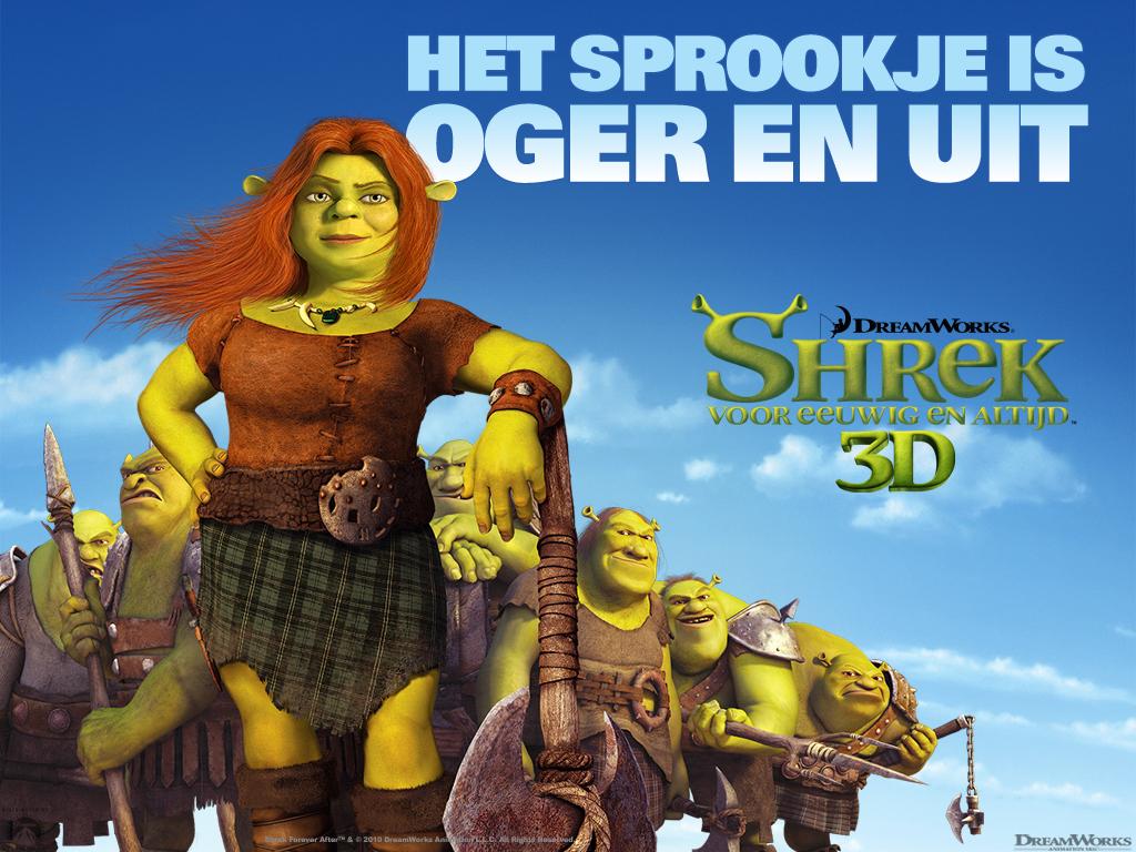 Kidsnfun Wallpaper Shrek 4 For Ever After Shrek 4